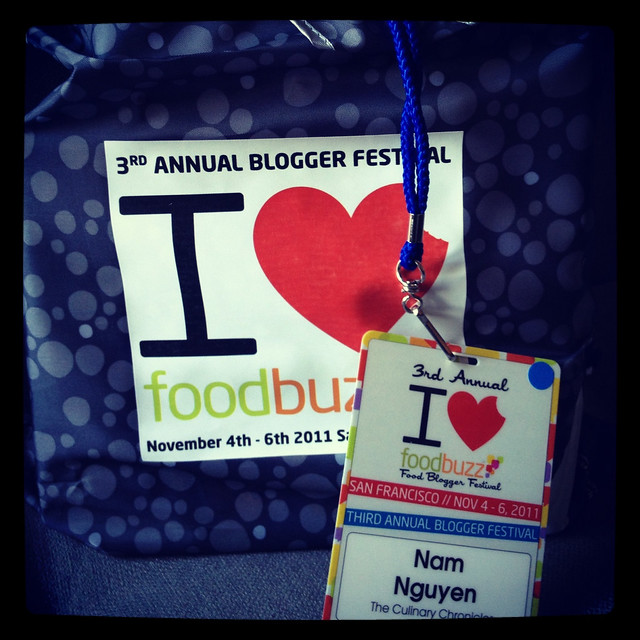Foodbuzz Blogger Festival