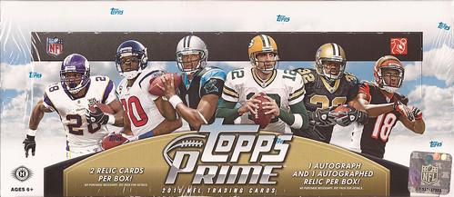 2011 Topps Prime box