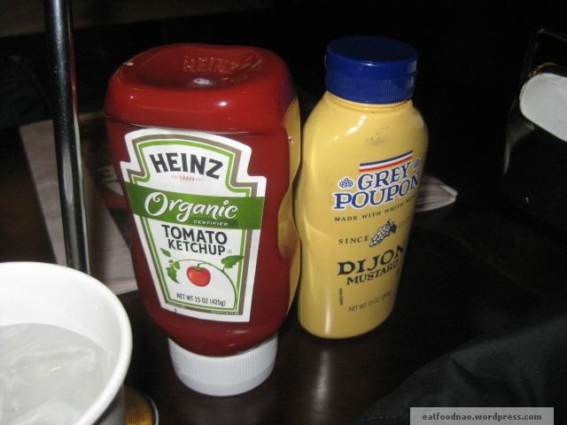 Nice condiments