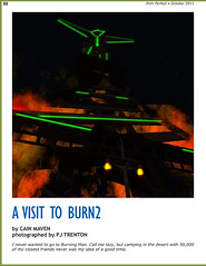 Prim Perfect: Issue 37 - October 2011: Burn2