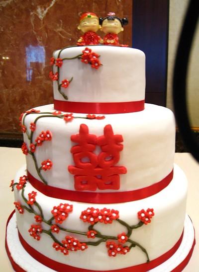 囍 wedding cake