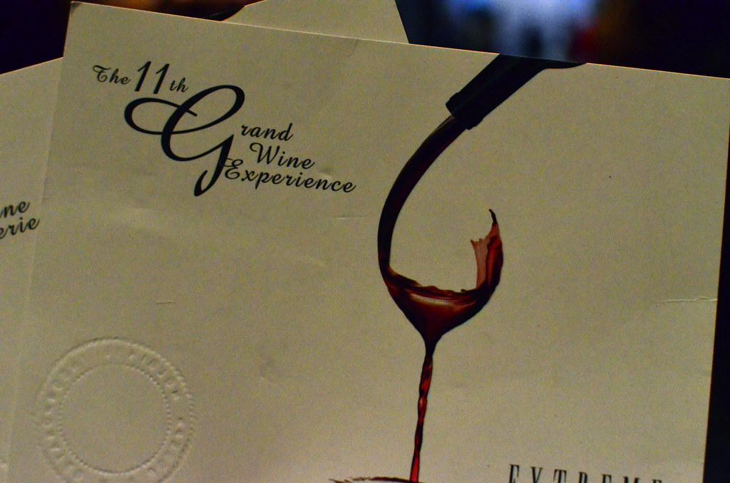 11th Grand Wine Experience Extreme