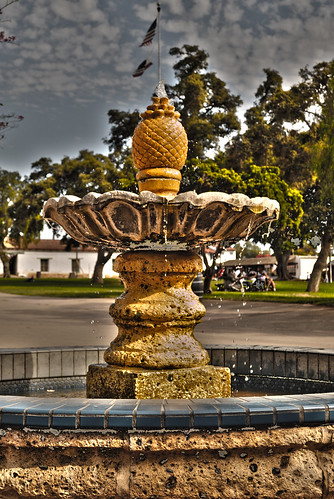 The Fountain in Old Town by robmercier00