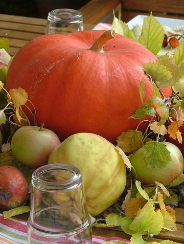 Autumn tablescape