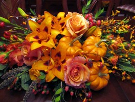 Thanksgiving Centerpiece Closeup