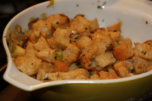 Thai Curry Sausage Stuffing