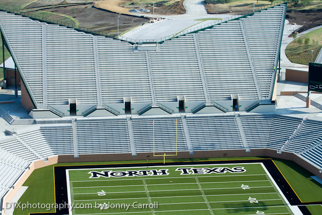 New UNT stadium Apogee