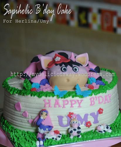 sapiholic Cake