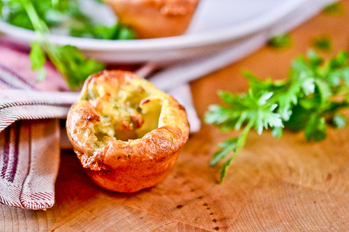 Mini Blue Cheese Popovers 7