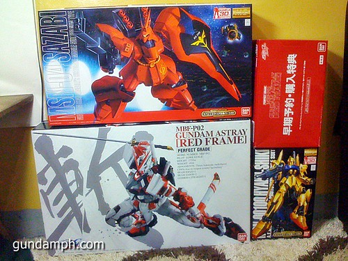 new haul october 30 2011 pg red frame bonus parts (1)