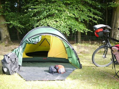 C&ing In A Rocky Field & Hilleberg Nallo 3GT: Our Trusty Tent For Bike Touring ...