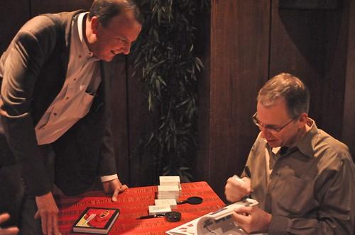 Frank Warren Book Signing