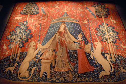 Paris, Lady and the Unicorn tapestry