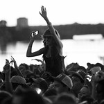 Crowds for Mac Miller
