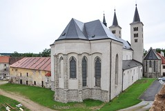Milevsko (okres Písek), klášter, kostel