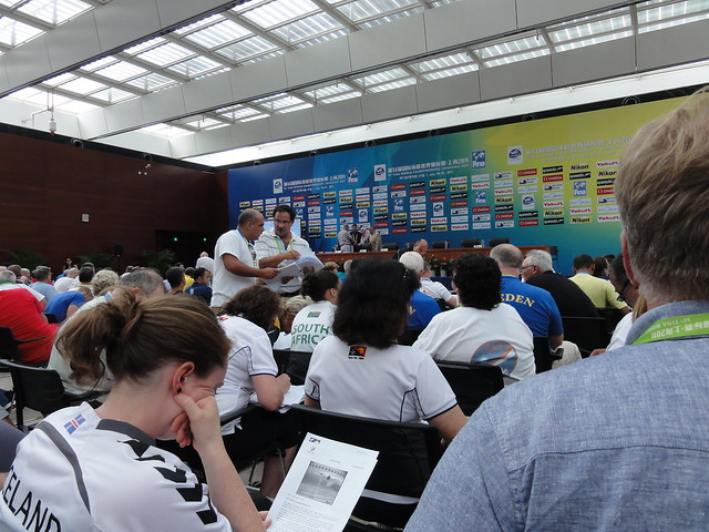 Technical meeting at Shanghai 2011