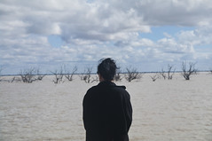 Belinda at Menindee Lakes