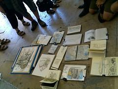 Lisbon perspectives sketchcbooks