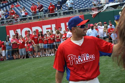Center Fielder, Shane Victorino