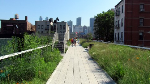 walkability, streetscapes, urban life, High Line