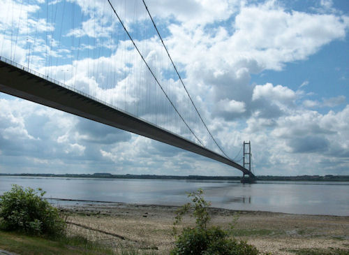 Humber Bridge by Sarah L Couzens