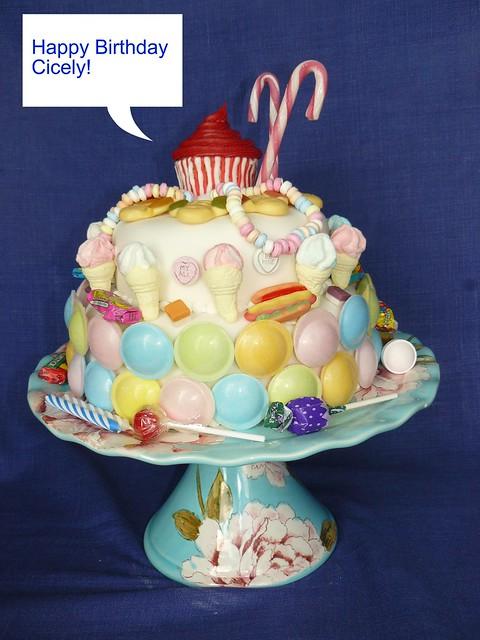 Happy Birthday Cake Julie