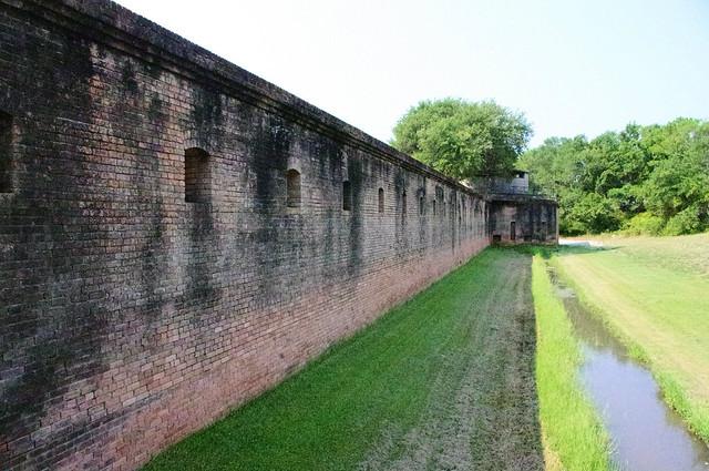 Fort Gaines, Dauphin Island, Alabama, July 3, 2011