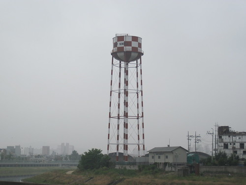 Old Camp Nimble Water Tower In Dongducheon, South Korea