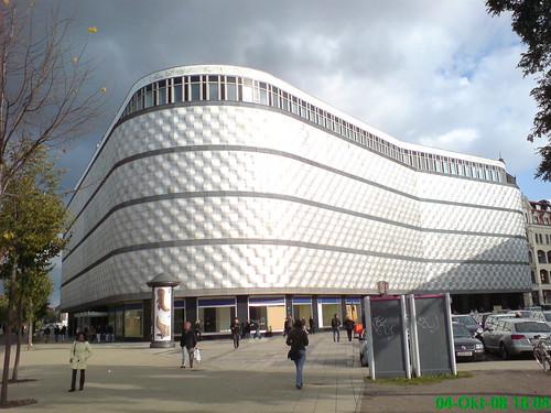 ehemaliges 'Konsument am Brühl', in Leipzig auch als Blechbüchse bekannt