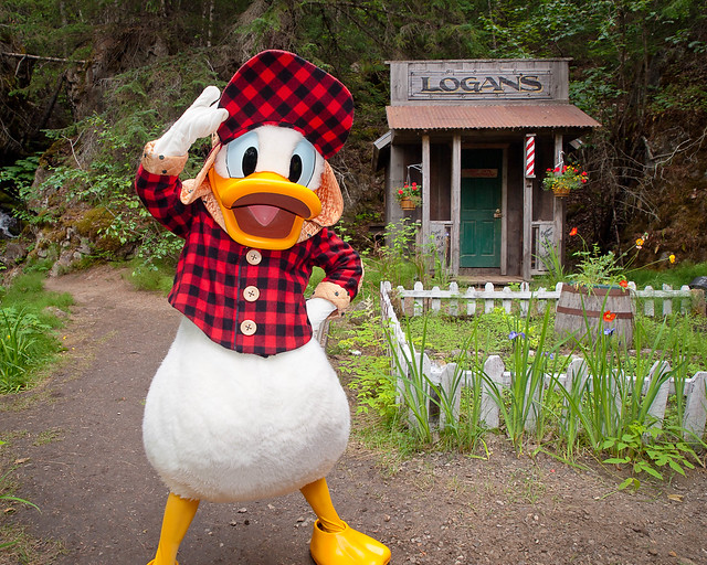 Yukon Donald at Barbershop