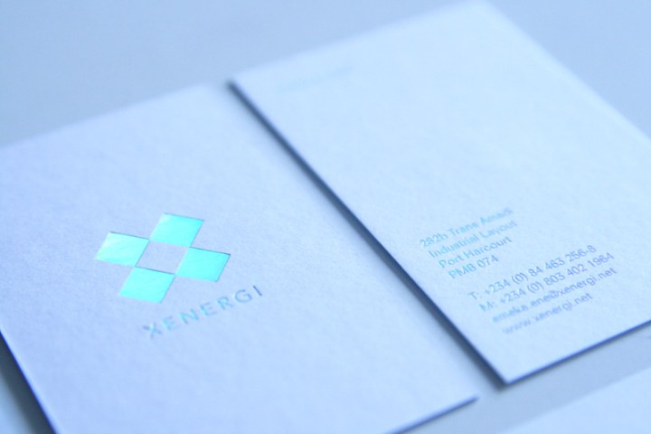 Xenergi Business Cards