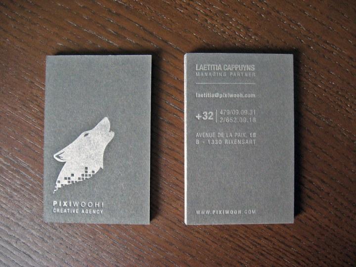 European Letterpress Business Cards