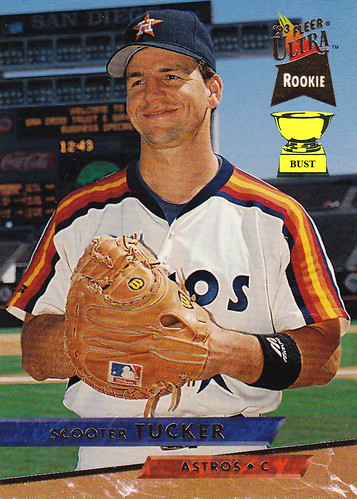 Baseball Card Bust Scooter Tucker 1992 Fleer Ultra