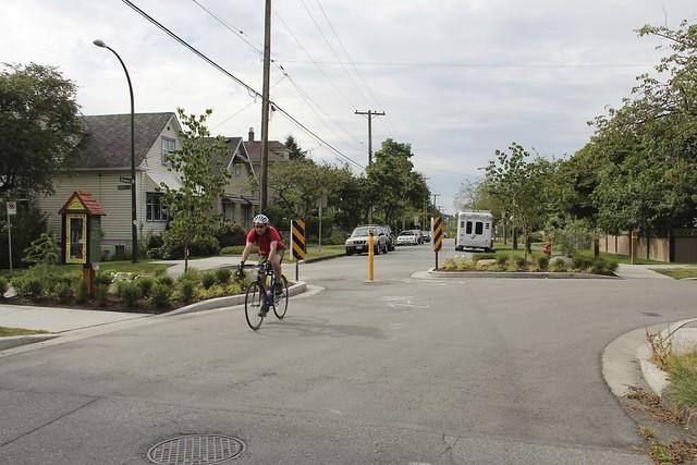 Traffic Calming at Charles and Lakewood 4