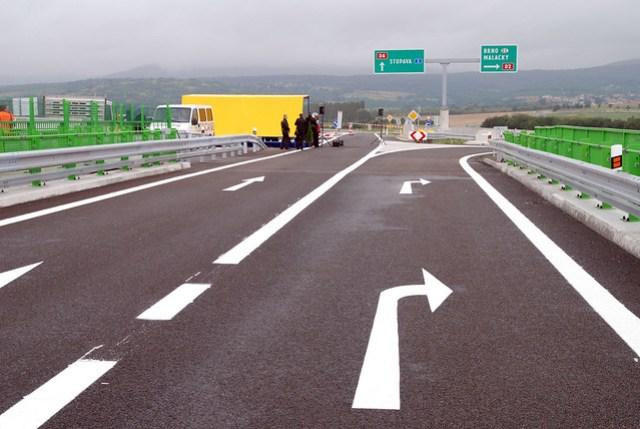 Otvorenie križovatky Stupava - Juh, Diaľnica D2