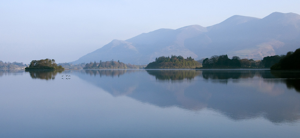 First light on Derwent Water