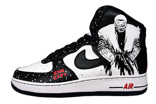 Sin City Air Force 1 Marv