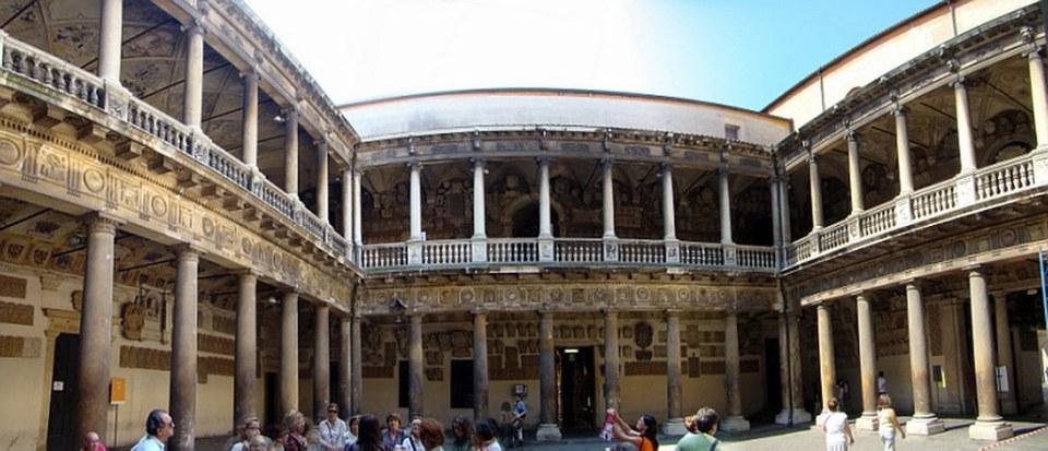 Italia Universidad de Padua patio 04