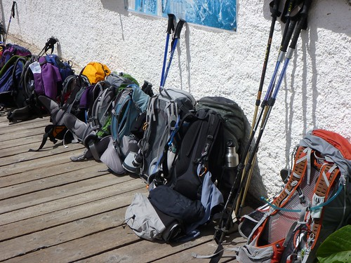 Sennes - Backpacks ready for the day