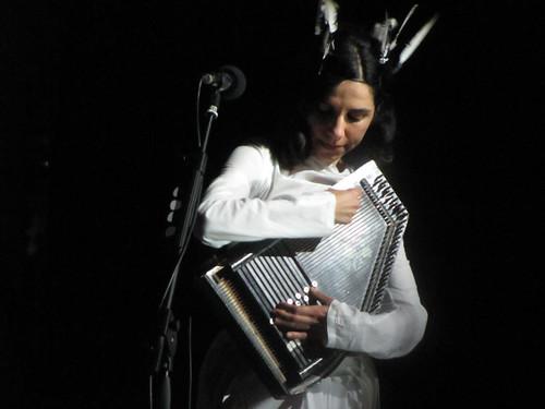 PJ Harvey live at Ferrara sotto le Stelle