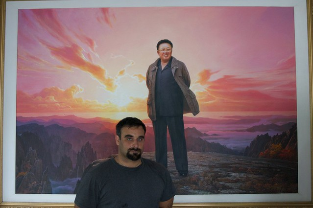 Hanging with Kim Jong-il