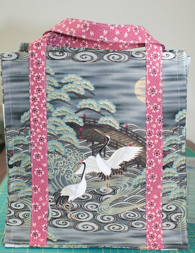 Japanese Red-Crown Cranes Bag