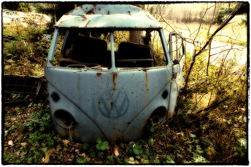 VW Sheds a Rusty Tear by Davidap2009