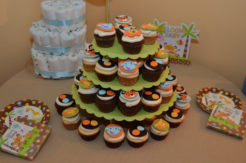 Fisher Price Jungle Baby Shower Theme