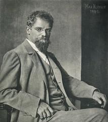 Max Klinger, 1899, by Nicola Perscheid