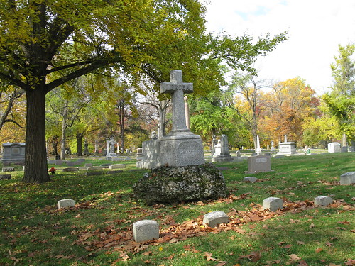 Bruen family plot, Woodland Cemetery, Section 102