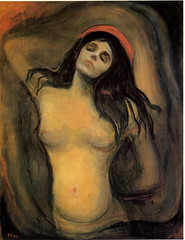 Edvard Munch's, Madonna, 1895-97