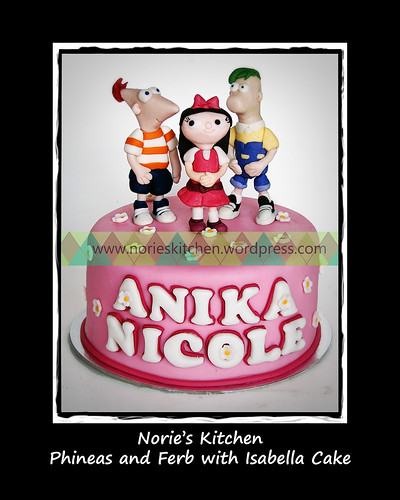 Norie's Kitchen - Phineas and Ferb Cake 2 by Norie's Kitchen