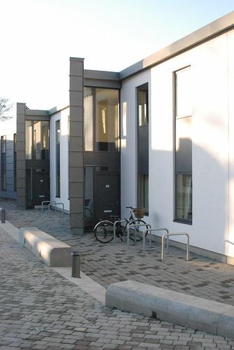 Modern urban housing