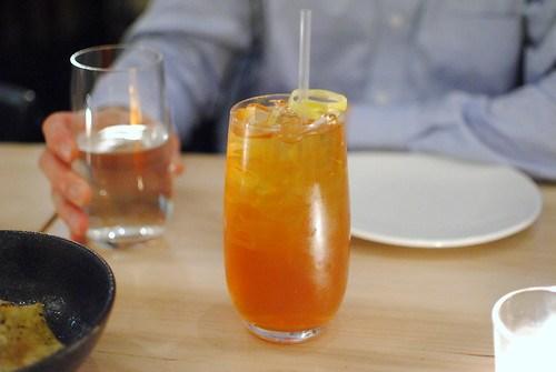 Pear-star anise soda